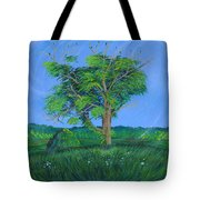 Pleasant Township Tree Tote Bag