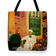 Please Be Seated Tote Bag