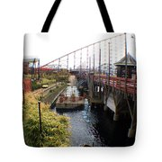 Pleasure Beach Roller Coaster Tote Bag