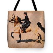 Pleasure Buckskin Tote Bag