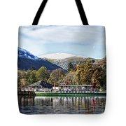 Pleasure Cruiser On Ullswater Tote Bag