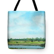Plein Air At Nancy's 2  Tote Bag