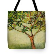 Plein Air Garden Series No 8 Tote Bag by Jennifer Lommers