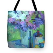 Plein Air Lilacs Tote Bag