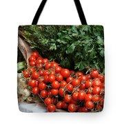 Plentiful Red Tote Bag
