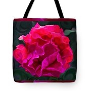 Plentiful Supplies Of Pink Peony Petals Abstract Tote Bag