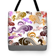 Plenty Of Fish In The Sea 5 Tote Bag