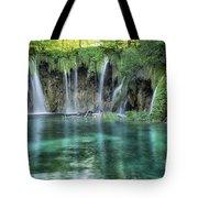 Plitvice Falls Tote Bag