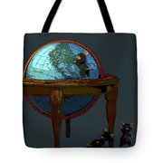 Plotting To Conquer The World... Tote Bag