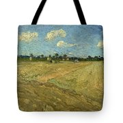 Ploughed Fields - The Furrows Tote Bag