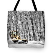 Plowin Snow Tote Bag
