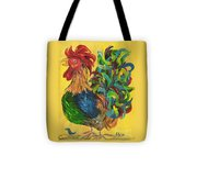 Plucky Rooster  Tote Bag