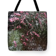 Plum Blossom In The Snow Tote Bag