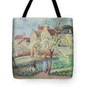 Plum Trees In Flower Tote Bag
