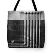 Plumbing Symmetry Tote Bag