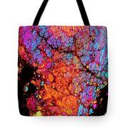 Plume Of Color Tote Bag