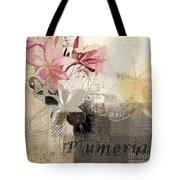 Plumeria - 064073079m3 Tote Bag