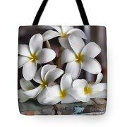 Plumeria The Pretender Tote Bag