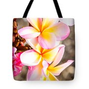 Plumerias Of Paradise 4 Tote Bag