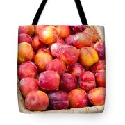 Plums In A Basket Tote Bag