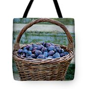 Plums In A Basket, Southern Bohemia Tote Bag