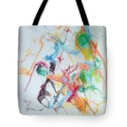 Plunging The Depths Of Being 1 Tote Bag by David Baruch Wolk