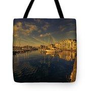 Plymouth Barbican Marina  Tote Bag