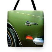 Plymouth Barracuda 340-s Emblem Tote Bag