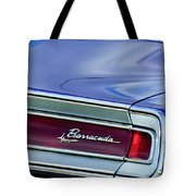 Plymouth Barracuda Taillight Emblem Tote Bag