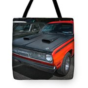 Plymouth Duster 340 Tote Bag