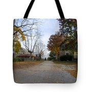 Plymouth Meeting Friends In Autumn Tote Bag
