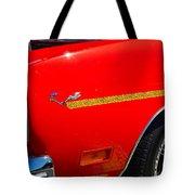 Plymouth Road Runner Closeup Tote Bag