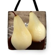 Poached Pear  Tote Bag