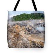 Poas Volcano Crater Tote Bag