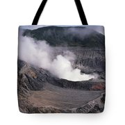 Poas Volcano National Park Costa Rica Tote Bag