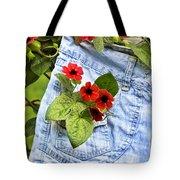 Pocket Full Of Posies Tote Bag