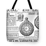 Pocket Watches, 1888 Tote Bag