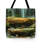 Poconos Cascades Tote Bag