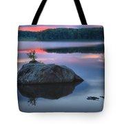 Poconos Sunset Mirror Tote Bag