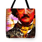 Poe Industries Steampunk Machines Patent Pending 20140518 Square V3 Tote Bag