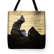 Poems By The Sea Tote Bag