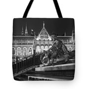 Poet And Parliament Tote Bag