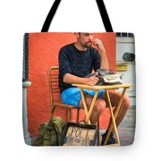 Poet For Hire - Paint Tote Bag