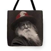 Poet Walt Whitman George Collins Cox Photo 1887-2010 Tote Bag