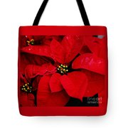 Poinsettia # 2 Tote Bag