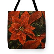 Poinsettia 2 Tote Bag