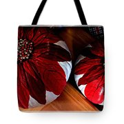 Poinsettias - Handmade - Crafts - Pumpkins Tote Bag