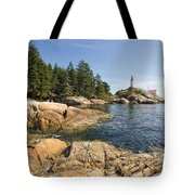 Point Atkinson Lighthouse In Vancouver Bc Tote Bag