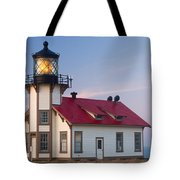 Point Cabrillo Lighthouse Tote Bag