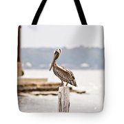 Point Clear Tote Bag
